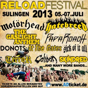 Reload Festival 2013 - 05. bis 07. April in Sulingen